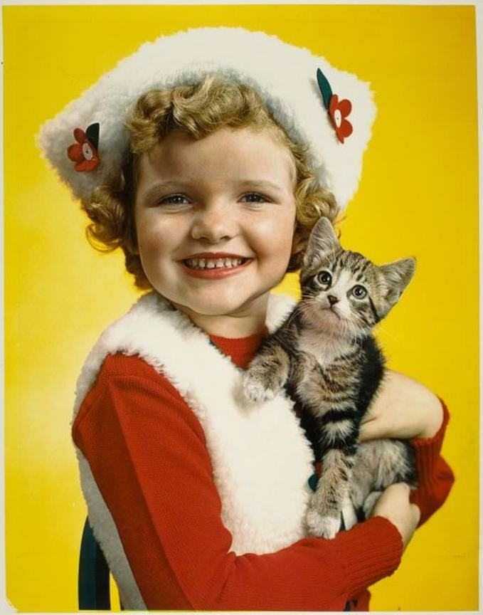 Parents Magazine, Girl with cat